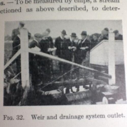 AGRICULTURE - 1932 - LAND DRAINAGE