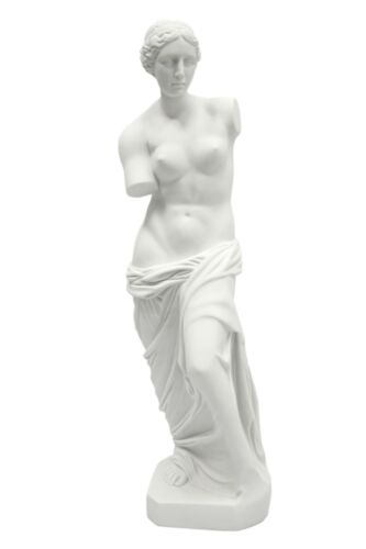 "XX-Large Nude Naked Venus De Milo Goddess Statue Vittoria Made in Italy 32"" Tall"