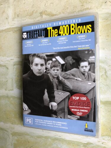 THE 400 BLOWS - FRENCH MOVIE - REGION 4 PAL DVD