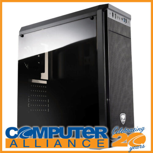 Cougar ATX MX330 Case Black with Clear Side Window