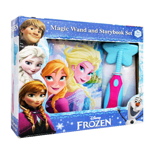 Disney Frozen Sound and Magic Wand and storybook Set