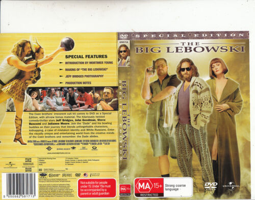 The Big Lebowski-1998-Jeff Bridges-Movie-DVD