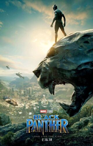 """Black Panther ( 11"""" x 17"""" ) Movie Collector's Poster Print (T2) - B2G1F"""