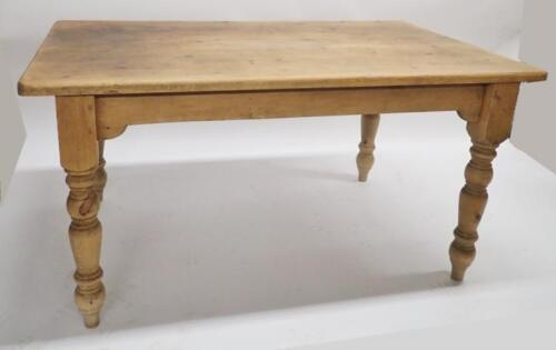 Pine Country Plank Table Lot 85
