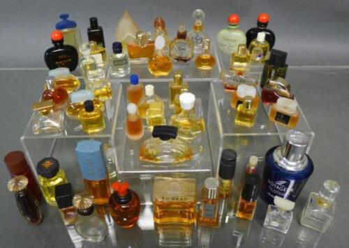 Miniature Perfume & Cologne Bottle Collection Lot 279