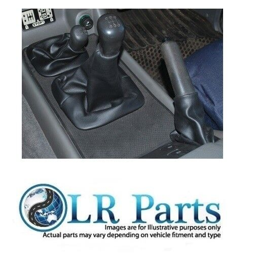 /& 2 LAND ROVER DISCOVERY 1 FJL101530PMA /'94 on High Low Lever Gaiter Black