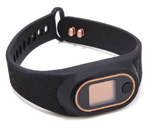Copper Fit™ Step FX Deluxe Rechargeable Activity and Fitness Tracker