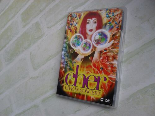 CHER LIVE IN CONCERT - REGION ALL / 4 PAL DVD