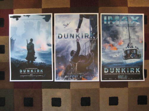 """Dunkirk ( 11"""" x 17"""" ) Movie Collector's Poster Prints ( Set of 3 )"""