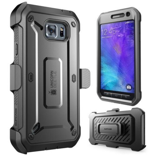 Galaxy S6 Active Case,SUPCASE Beetle Pro Holster Screen Protector S6 Active