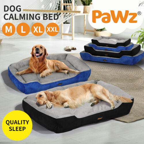 PawZ Heavy Duty Dog Bed Cat Beds Puppy Mattress Mat House Washable Soft Blanket <br/> Extra 5% OFF with Code PATPAT at checkout. T&Cs apply.