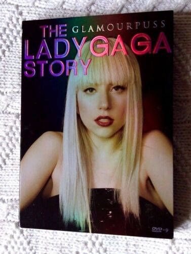 GLAMOURPUSS: THE LADY GAGA STORY (DVD) R-ALL, LIKE NEW, FREE POST IN AUSTRALIA