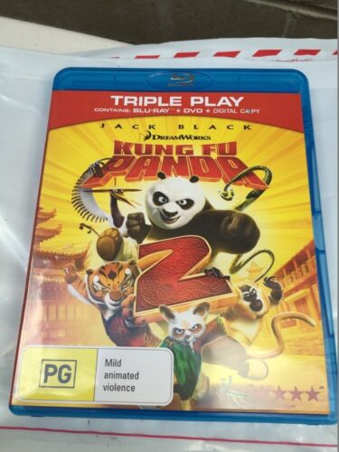 kung fu panda 2 bluray only Doesnt Include DVD disc