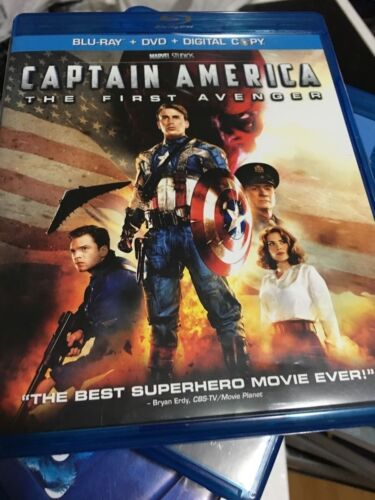 captain america the first avenger bluray only doesnt included DVD disc