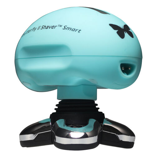 Skull Shaver Butterfly Smart LCD 5 Head Blue Electric Shaver- New Open Box Model