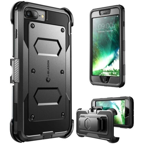 For iPhone 8 Plus Case Armorbox i-Blason Screen Protector Full Coverage iPhone8+