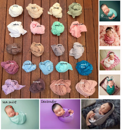 NEW The Jersey Wrap for Newborn Photography Wrap Slider Photo Prop Backdrop