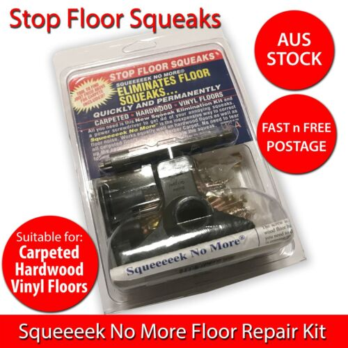 OBerry Squeak Squeeeek No More Floor Screws Kit - Stops Squeak - Australia Stock