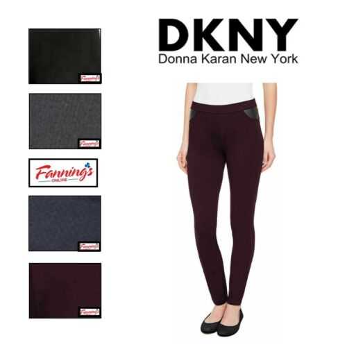 SALE!! NEW DKNY Ladies' Pull-on Ponte Pant VARIETY SIZE & COLOR Free Shipping!