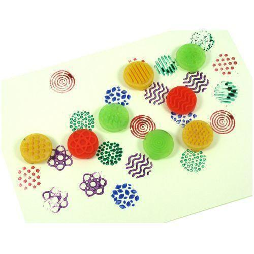 Finger Stampers for Dough or Paint