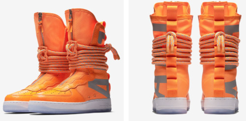 Men Nike SF Air Force 1 Special Field AF1 high AA1128-800 Total Orang AUTHENTIC
