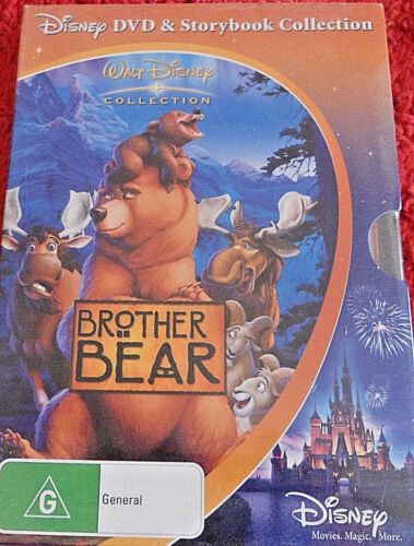 DVD.  Brother Bear / DVD & Storbook Collection / Reg4