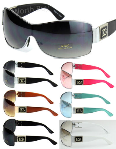 e53a7c659fd New DG Eyewear Womens Mens Shield Designer Wrap Sunglasses Shades Retro  Fashion