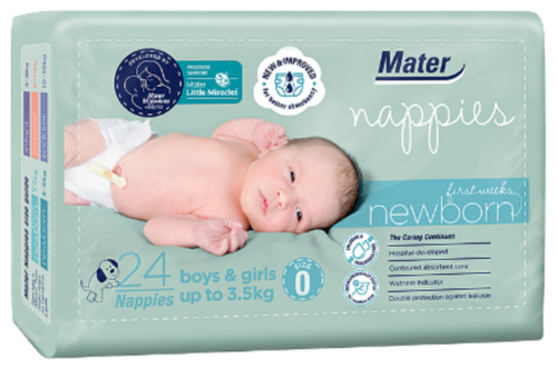Newborn First Weeks Nappies 24 Pack