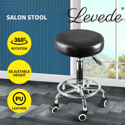 Salon Stool Hairdressing Barber Chair Beauty Swivel PU Equipment Lift SGS <br/> Best Price / Top Quality / AU Stock / Fast Shipping