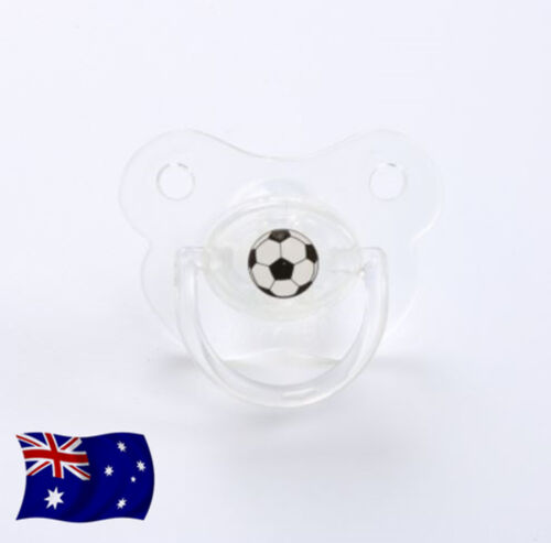 Baby Shower Costume Soccer Football Party Funny Teeth Pacifier dummie PROP