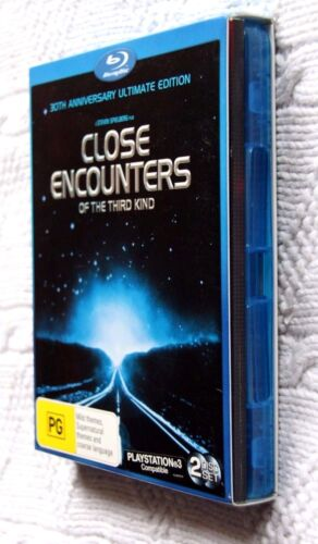 Close Encounters Of The Third Kind (Blu-ray, 2-Disc+Booklet+Slipcase) LIKE NEW