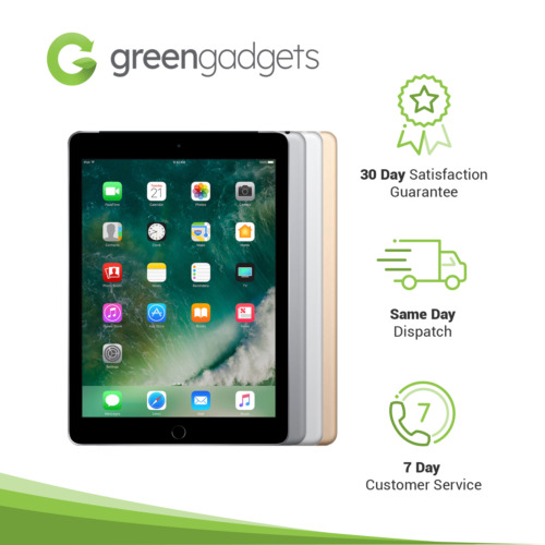 Apple iPad 5th Gen 32GB 128GB Wi-Fi A1822 / W-Fi A1823 Space Grey Silver Gold
