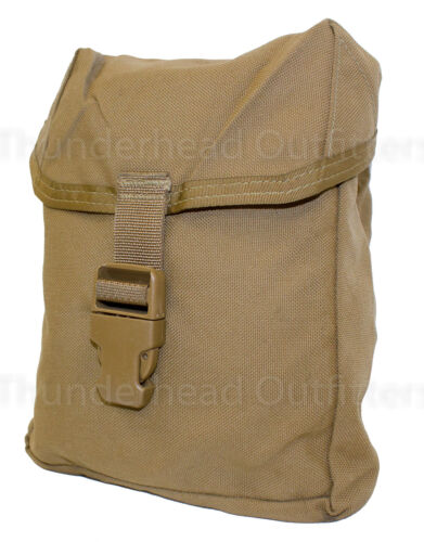 USMC Individual First Aid Kit Pouch IFAK Coyote MOLLE Utility Pouch VGCPouches - 158437