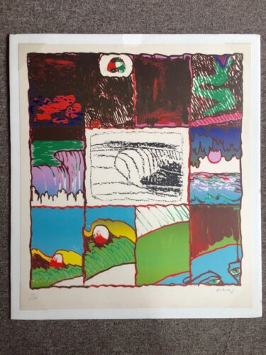Alechinsky Pierre 1978 Lithograph A L'Imprinerie 1 Signed Numbered Cobra Art