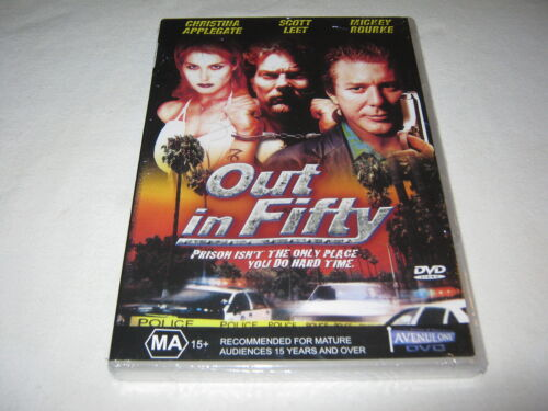 Out in Fifty - Christina Applegate - Mickey Rourke - New Sealed DVD - Region ALL