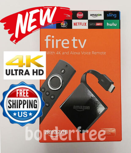 All-New Fire TV with 4K Ultra HD and Alexa Voice Remote (3rd Generation)