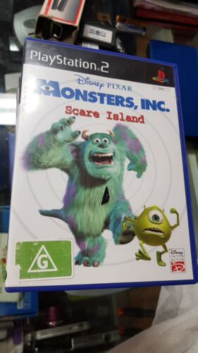 Monsters Inc Scare Island PS2 PAL