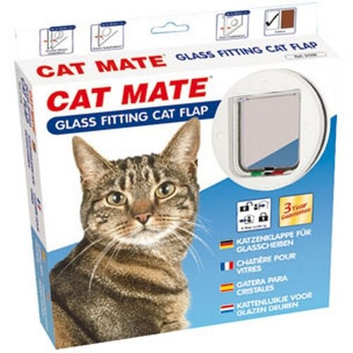 Replacement Flap Holder Cat Cat Mate 4 Position for Glass White Ref 500719