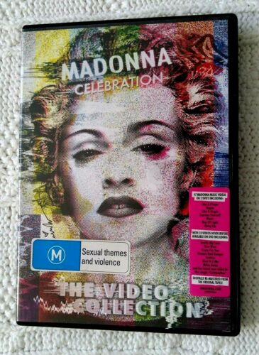 MADONNA - CELEBRATION -THE VIDEO COLLECTION – DVD
