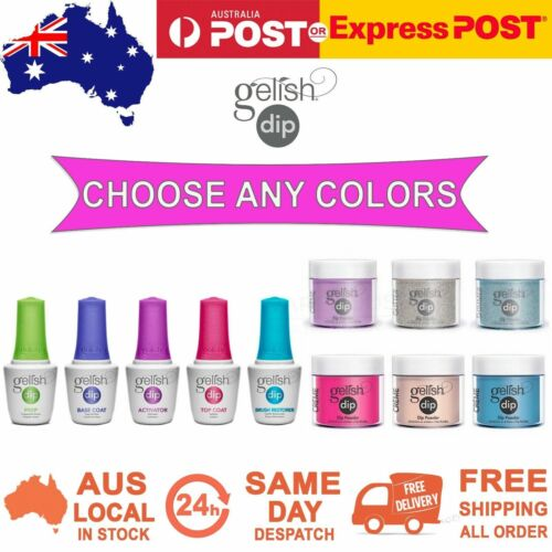 Harmony Gelish Dip SNS Dipping Powder Nail System 23g Your Choice of Colours
