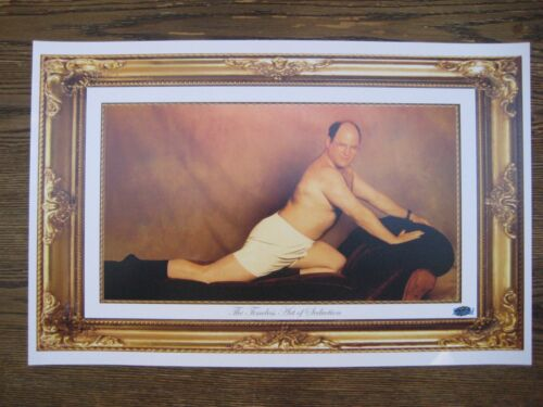 Seinfeld George Costanza 'The Timeless Art of  seduction Poster Print - B2G1F