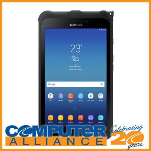 """Samsung Galaxy Tab Active2 8"""" 16GB WiFi Android Tablet PN SM-T390NZKAXSA Shock/W"""