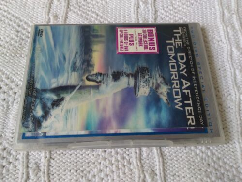 The Day After Tomorrow (DVD, 2004, 2-Disc Set) R-4, LIKE NEW, FREE POST AUS-WIDE