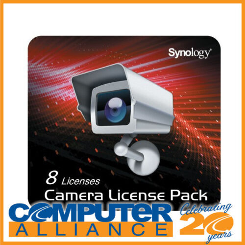 Synology Camera License for 8 Cameras PN SY60030