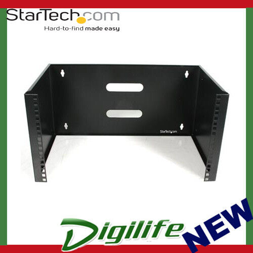 StarTech 6U 12in Deep Wall Mounting Bracket for Patch Panel WALLMOUNT6