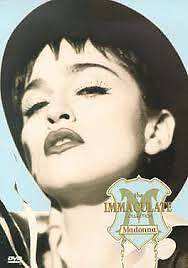 Madonna - The Immaculate Collection (DVD) R: 2-6, LIKE NEW, FREE POST AUS-WIDE