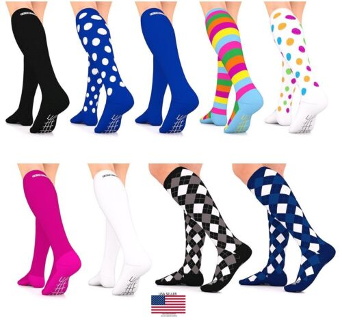 Compression Socks 16-22mmHg Graduated Womens Mens Stockings Go2 Elite  <br/> USA Same Day Ship ✅Best Quality✅ FREE SHIPPING