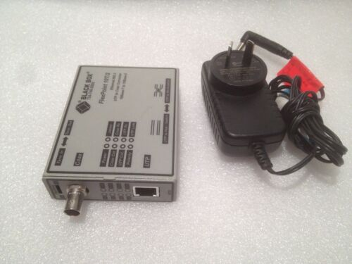 Black Box 724-746-5500 FlexPoint 10T/2 UTP to Coax Converter LMC210A