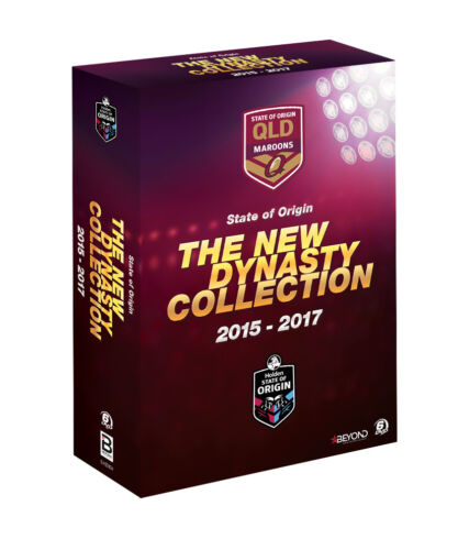 BRAND NEW State of Origin - The New Dynasty Collection (DVD, 2015-2017) Maroons