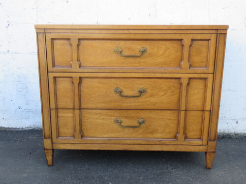 Mid Century Modern Large Nightstand End Table Small Dresser by Drexel 8875